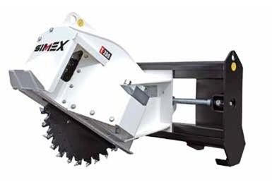 Roti excavare pentru skid steer loader seria T200